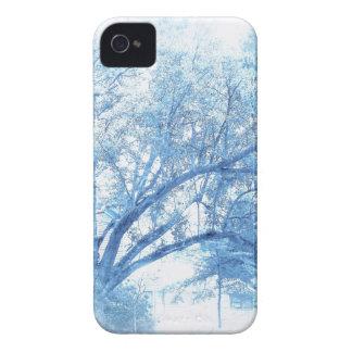 Südliche blaue Eiche Toile Case-Mate iPhone 4 Hülle