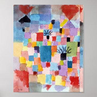 Südliche Gärten: Paul Klee 1919 Poster