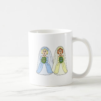 Südliche lesbische Hochzeit Kaffeetasse