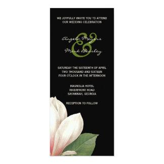 Südliche Magnolien-Blume, die   elegantes Karte