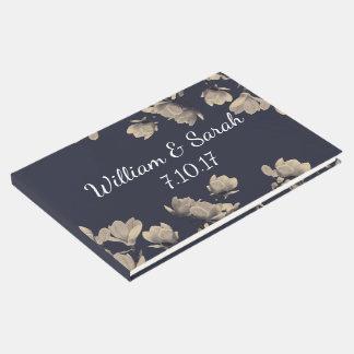Südliche Magnolien u. die Namen des blauen Gästebuch