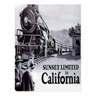 Südliche pazifische Eisenbahn - Zwanzigerjahre Postkarte