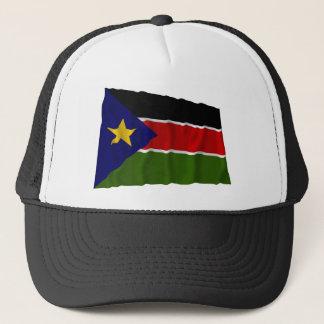 Südliche wellenartig bewegende Flagge Sudans Truckerkappe