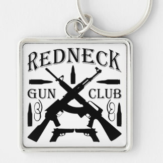 Südlicher Jungen-Mädchen-Redneck-Gewehr-Verein Schlüsselanhänger
