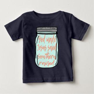 Südliches angehobenes Weckglas Baby T-shirt