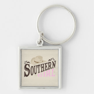 Südliches Mädchen Schlüsselanhänger