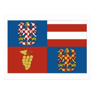 Südmoray-Flagge Postkarte
