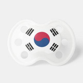 Südnationale Weltflagge koreas Schnuller