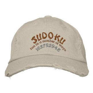 Sudoku Bestickte Baseballkappen