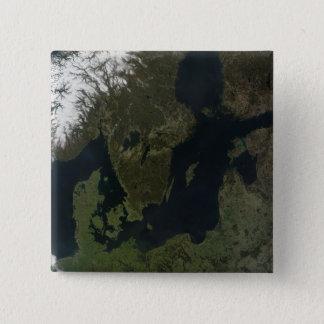 Südskandinavien Quadratischer Button 5,1 Cm
