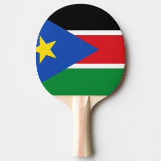 Südsudan-Flagge Tischtennis Schläger