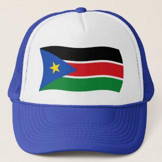 Südsudan-Flaggen-Hut Truckerkappe