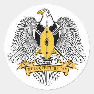 Südsudan-Wappen Aufkleber