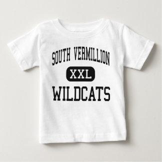 Südwärts Vermillion - Wildkatzen - hoch - Clinton Baby T-shirt