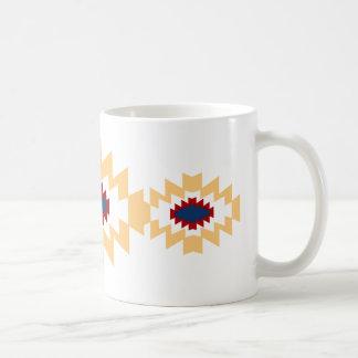 Südwestaztekischer Ureinwohner-Stammes- Entwurf Kaffeetasse
