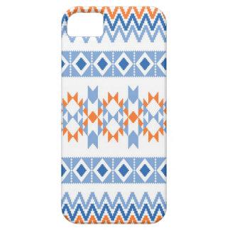 Südwestaztekisches Stammes- Motiv-Muster iPhone 5 Schutzhülle