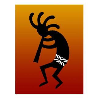 Südwestentwurf, der Kokopelli tanzt Postkarte