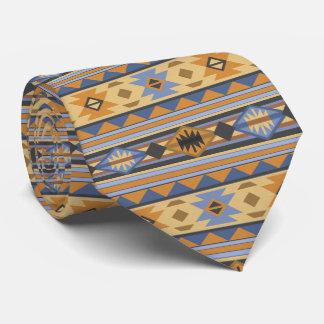 Südwestentwurfs-blaues Grau-Monogramm Krawatten