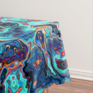 Südwestfarben marmorten abstraktes tischdecke