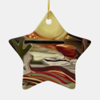 Südwestliche Himmel-abstrakte Kunst Keramik Ornament