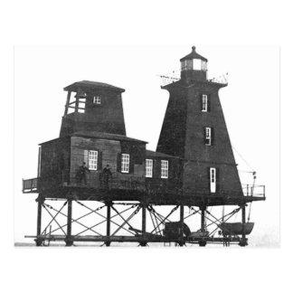 Südwestriff-Leuchtturm Postkarte