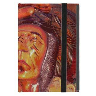 Südweststammes- gebürtiger Ureinwohner-Leiter Schutzhülle Fürs iPad Mini