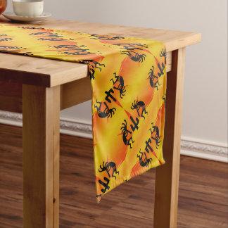 Südweststammes- Muster Kokopelli Großer Tischläufer
