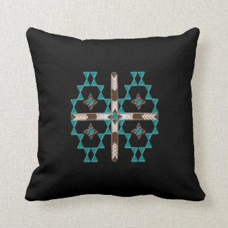 Südwestsymmetrie-BaumwollWurfs-Kissen 16x16 Kissen