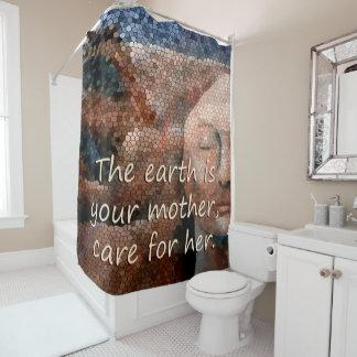 SüdwestUreinwohner-Mutter Erden-Vorhang Duschvorhang