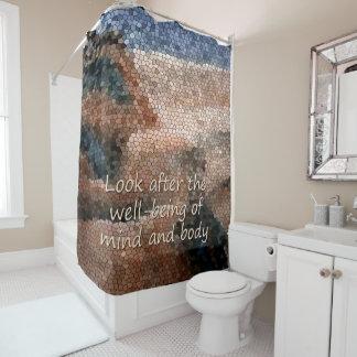SüdwestUreinwohner-Wohl-Dusche Duschvorhang