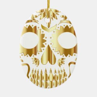 sugar-skull-1782019 ovales keramik ornament
