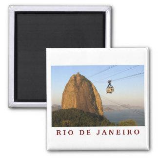 """""""Sugarloaf, Rio de Janeiro"""" Magnet Kühlschrankmagnet"""