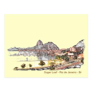 SugarLoaf Rio Postkarte
