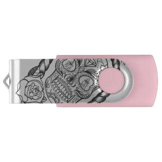 Sugarskull Tätowierungskunst durch sweetpieart USB Stick