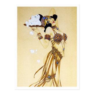 Sühne - von der des Pierrots Liebe-Reihe Postkarte