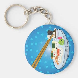 Suhsi Servierplatten-Schlüsselkette Schlüsselanhänger