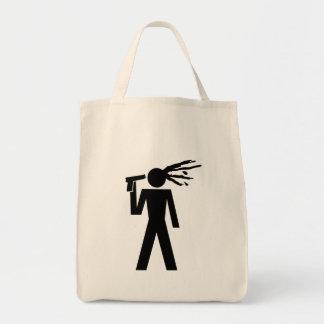 suicid piktogramm einkaufstasche