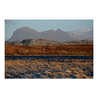 Suilven, Assynt, Hochländer von Schottland Poster