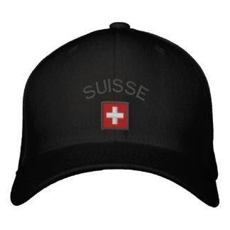 Suisse Hut - die Schweiz-Kappe mit Schweizer Besticktes Cap