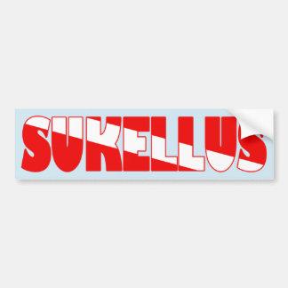 Sukellus (finnisch) autoaufkleber