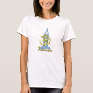 Sukhasana Pose, namaste Yoga T-Shirt