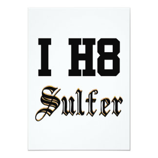sulfer 12,7 x 17,8 cm einladungskarte