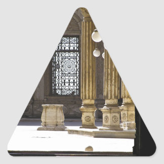 Sultan Ali Moschee in Kairo Dreieckiger Aufkleber