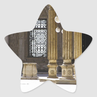 Sultan Ali Moschee in Kairo Stern-Aufkleber