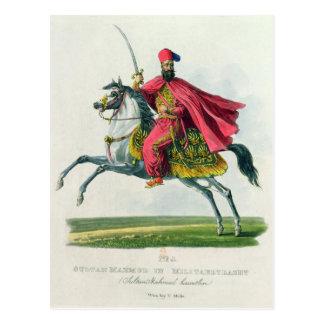 Sultan Mahmud II 1829 Postkarte