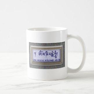 Summen-Tee-Schale OM Mani Padme Kaffeetasse