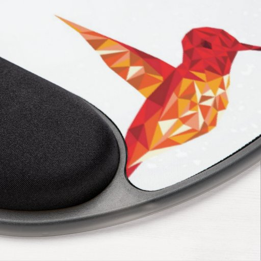 Summenvogel-Entwurfsauflage Gel Mousepads
