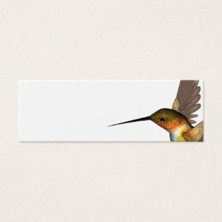 Summenvogelgold Mini Visitenkarte