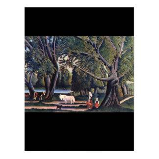 Summer', Henri Rousseau_Landscapes Postkarte