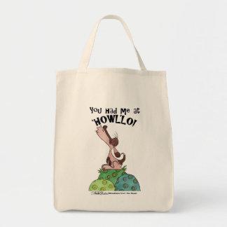 Summer-Hund Einkaufstasche